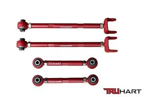 Truhart Adjustable Rear Camber Toe Control Arms Kit For Acura Tl Tsx 09 13