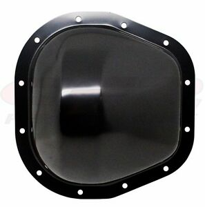 Black 12 Bolt 10 5 Ring Gear Rear Differential Cover Fits 86 Up Ford Sterling