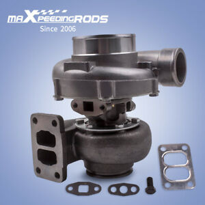 T70 70 A r T3 V Band Flange Oil Universal Turbo Turbocharger 500hp
