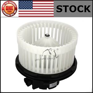 Ac Blower Motor Fan Heater For Chevy Silverado 1500 2500 3500 Gmc Cadillac 99 02