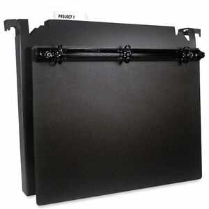 Hanging File Boxes With 3 ring Component Letter 2 Cap 1 Ring Black