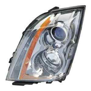 Cadillac Cts Coupe Wagon 2010 2011 2012 2013 2014 Left Driver Headlight Light