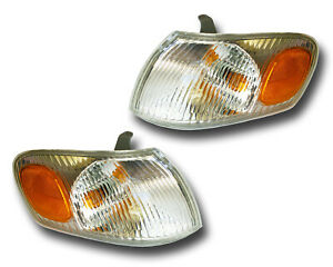 Fits 98 00 Toyota Corolla Driver Passenger Signal Parking Light Assembly 1 Pair