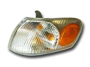 Fits 1998 2000 Toyota Corolla Driver Left Side Signal Parking Light Assembly Lh