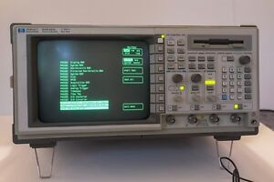 Hp 54542a 500 Mhz 2 Gsa s 4 Channel Digital Oscilloscope With Fft