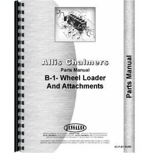 Allis Chalmers B 1 Lawn Garden Tractor Parts Manual Ac p b1 Gard