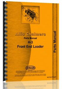 Allis Chalmers H3 Crawler Parts Manual