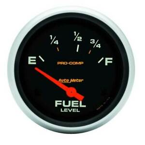 Autometer 2 5 8 Fuel Level 73 10 Ohm Gauge For Mustang And Ford chrysler