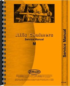 Allis Chalmers M Crawler Service Manual Ac s m
