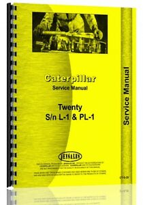 Caterpillar 20 Crawler Service Manual ct s 20