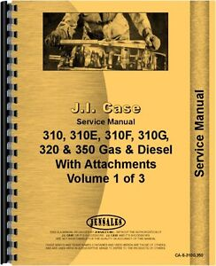 Case 310 310e 310f 310g 320 350 Crawler Service Manual ca s 310g 350