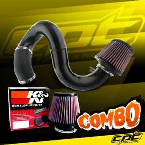 12 15 Honda Civic Si 2 4l 4cyl Black Cold Air Intake K N Air Filter