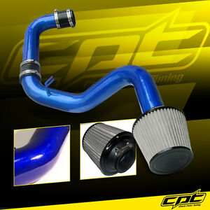 For 06 09 Vw Golf Gti Turbo 2 0t Fsi Blue Cold Air Intake Stainless Filter