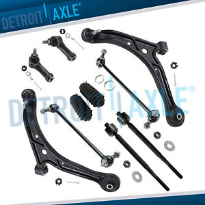 New 10pc Front Lower Control Arm Set Suspension Kit For 02 04 Honda Odyssey