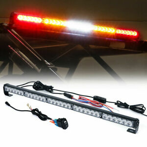 Xprite 30 Rear Chase Led Light Bar Brake Reverse For Utv Polaris Can Am Yamaha