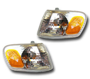 Fits 01 02 Toyota Corolla Driver Passenger Signal Parking Light Assembly 1 Pair