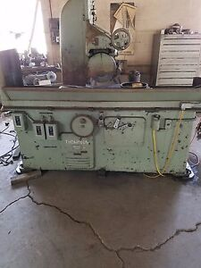 Thompson Horizontal Surface Grinder S n 3b11382 w Used