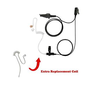 Extra Coil With 1 wire Clear Coil Surveillance For Kenwood Nexedge Nx 411