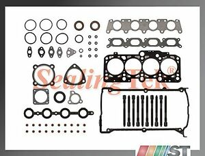 Fit 99 06 Audi Vw 1 8t Turbo Cylinder Head Gasket Set Bolts Kit Aph Awm Engine