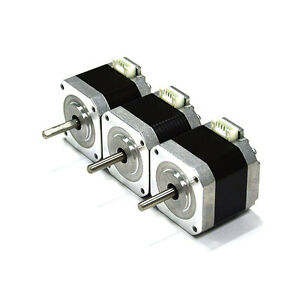 Hictop Nema 17 Stepper Motor Bipolar 1 5a 57oz in 40mm 4 lead For 3d Printer 3pc