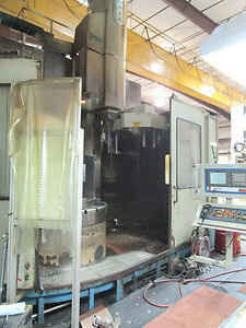 55 Olympia Cnc Vertical Boring Mill With Fanuc 18i Cnc New In 2001