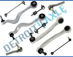 New 10pc Complete Front Forward And Rearward Control Arm Suspension Kit For Bmw