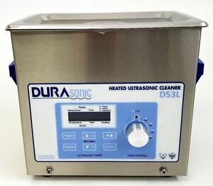 New Durasonic 3 Liter 75 Gallon Digital Ultrasonic Cleaner With Basket
