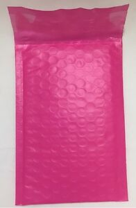 Qty 100 0 6 X 9 Pink Color Poly Bubble Mailers Self Seal Padded Envelopes