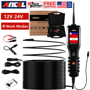 12v Car Powerscan Circuit Tester Probe Electrical Power Avometer Diagnostic Tool