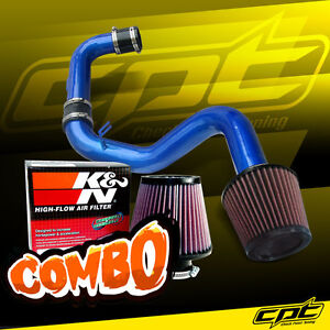 For 06 09 Vw Golf Gti Turbo 2 0t Fsi Blue Cold Air Intake K N Air Filter