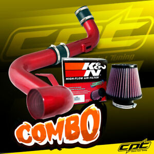 For 06 09 Vw Golf Gti Turbo 2 0t Fsi Red Cold Air Intake K N Air Filter