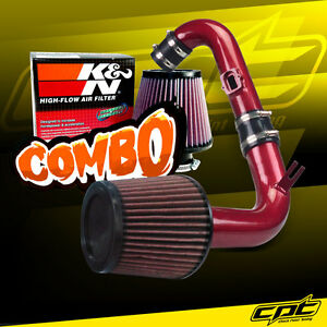 11 15 Chevy Cruze Turbo 1 4l 4cyl Red Cold Air Intake K N Air Filter
