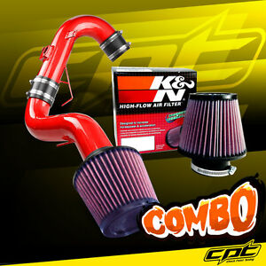 11 16 Scion Tc 2 5l 4cyl Red Cold Air Intake K N Air Filter