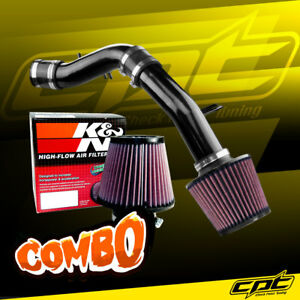 12 17 Accent 1 6l 4cyl Black Cold Air Intake K N Air Filter