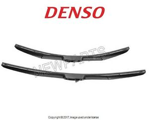 For Bmw F15 F85 F16 X5 Front Window Wiper Blade Set Oem Denso 160 3124 160 3120