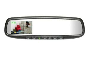 Mito Gentex Auto Dim Rearview Mirror W Rcd Compass Homelink For 10 Up Tundra