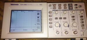 Textronix Tds 1002 2 Channel Digital Storage Oscilloscope 60 Mhz 1gs s