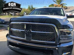 Egr Superguard No Drill Smoke Bug Shield Fits 2010 2018 Dodge Ram 3500 302851