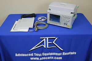 Anritsu Ms9720a Wdm Network Tester Optical Spectrum Analyzer 1450 To 1650nm