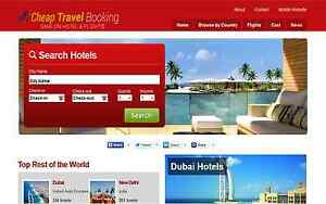 Automated Flights Hotel Car Vacations Travel Website 2 4 Per Lead