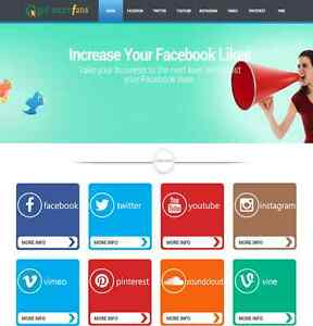 Premium Social Media Reseller Business Website For Sale With Free Installation