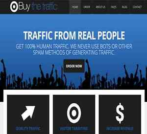 Traffic Reseller Business Turnkey Website High Profit Fully Outsourced 300 day