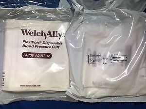 Welch Allyn Blood Pressure Cuff Adult Size 12 Reference 901044 Box Of 20