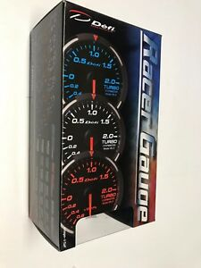 Defi Df06806 White Racer Gauge Exhaust Temperature Meter 200 To 1100 C 52mm New