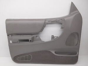 Genuine Oem Ford Ranger Left Grey Power Door Trim Panel F57z 1023943 Caz