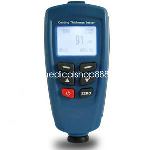 Dt 156 Digital Paint Coating Thickness Tester Meter Gauge Auto F Nf Probe New