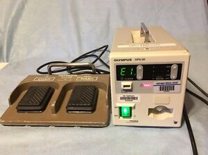 Olympus Hpu 20 Heat Probe Unit W Maj 528 Foot Switch For Endoscopic Haemostasis