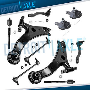 Front Lower Control Arms Ball Joints Tie Rods For Toyota Camry Lexus Es300
