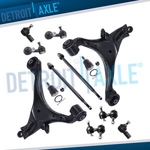 12pc Front And Rear Suspension Kit For 2001 2002 2003 2005 Honda Civic Acura El