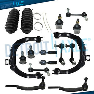 New 16pc Complete Front And Rear Suspension Kit For Trailblazer 16mm Threads